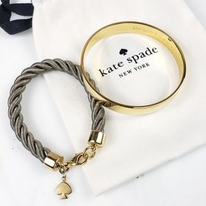 Kate Spade Bracelets Good As Gold, Learn The Ropes
